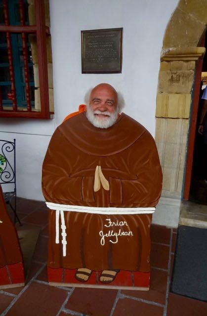 Santa Barbara Swami Monk